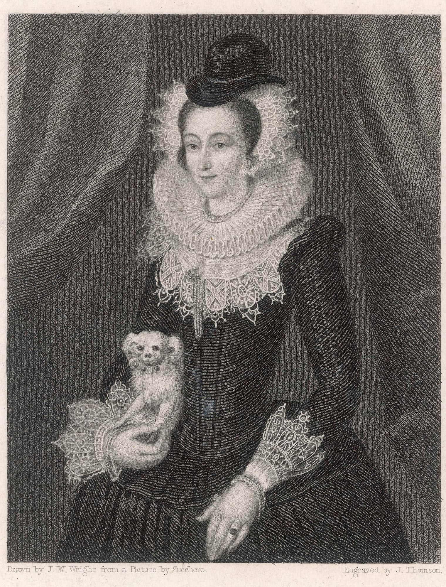 Mary-Queen-of-Scots and maltese