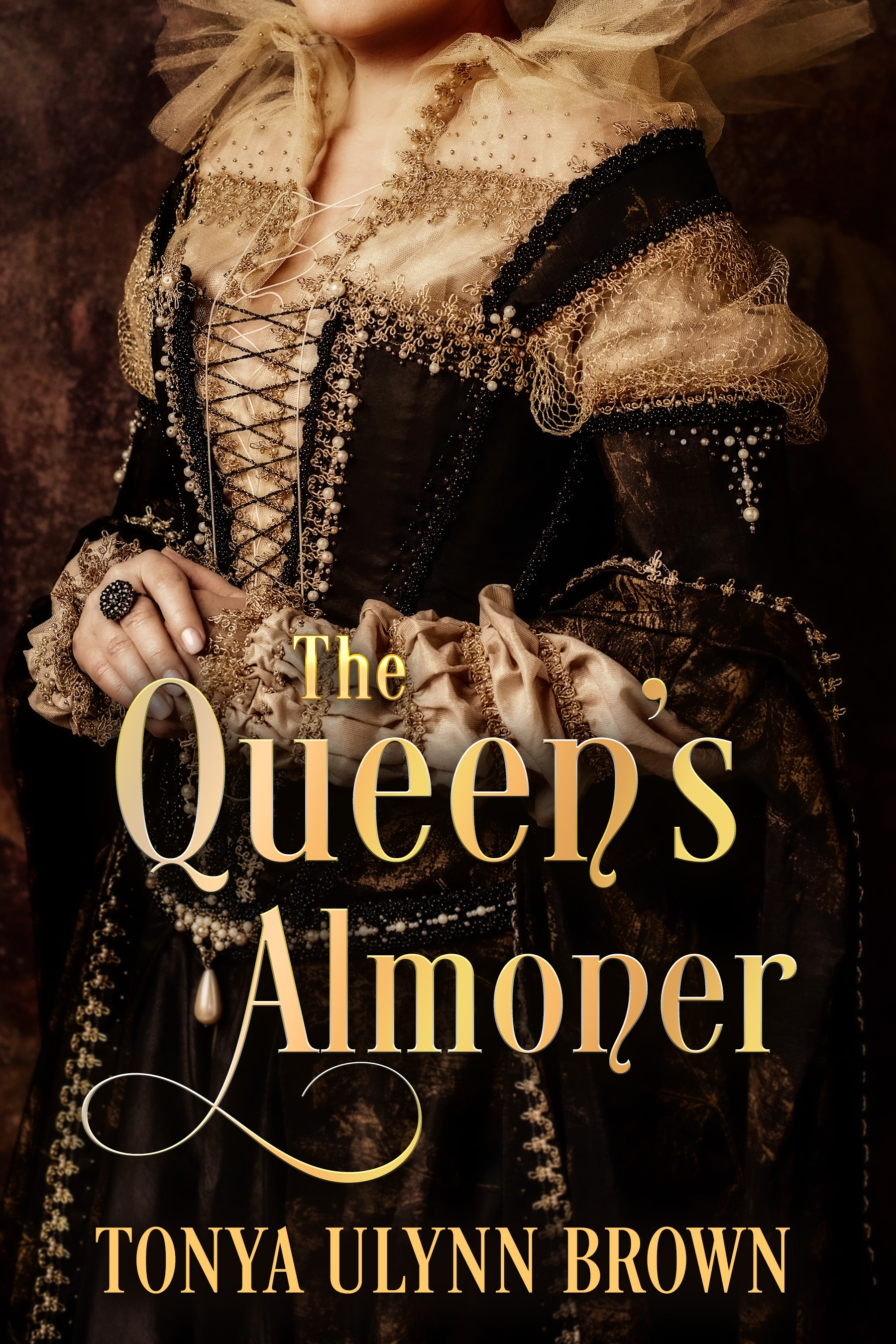 Official The_Queens_Almoner Book Cover Front